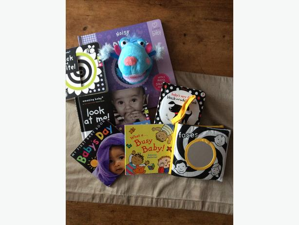 Selection of baby books