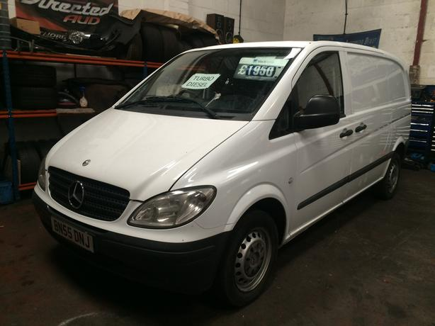 MERCEDES VITO CDI 2005 6SPEED DIESEL