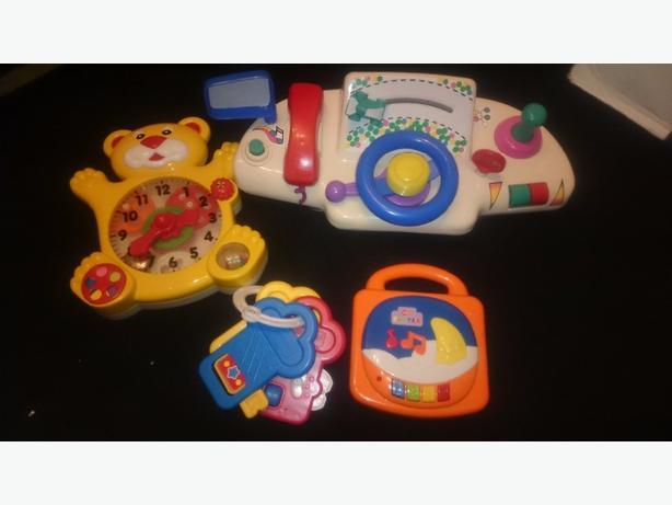 x4 toys £5