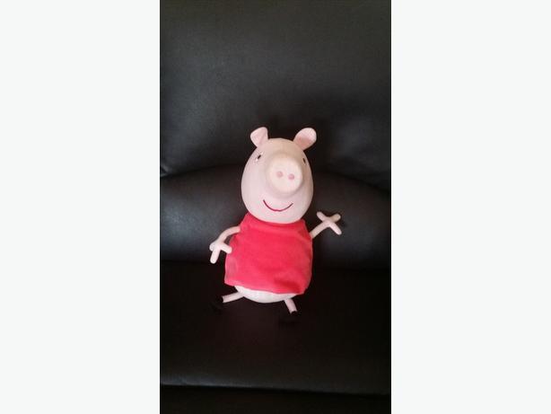 """12"""" Talking Peppa Pig"""