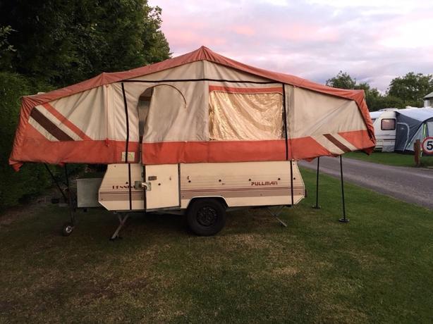bargain pennine folding camper 6berth