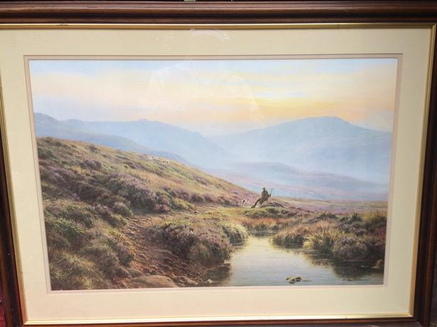 Listed Artist Rex. H. Preston Print