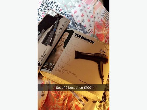 Toni&Guy straighter and dryer
