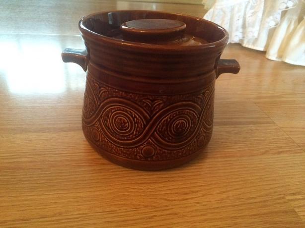 antique (retro ellgreave pottery saxony)