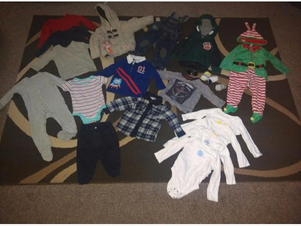 9-12months boys bundle