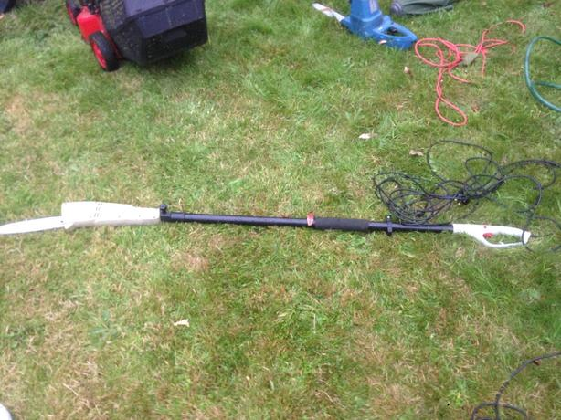 eckman telescopic chainsaw branch lopper