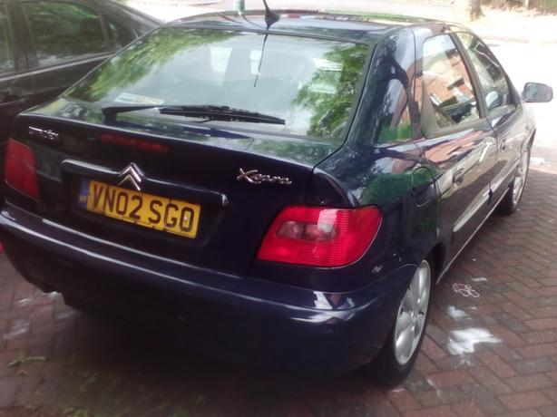 02 plate Citroen xsara 1.4 £150 no offers