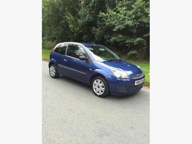 58 PLATE FORD FIESTA STYLE 1.25