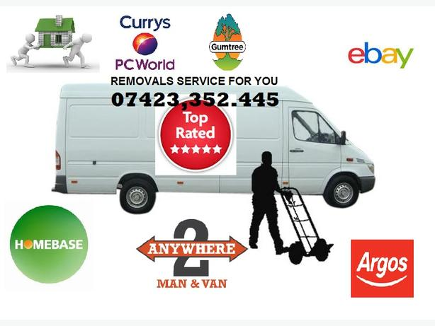 PROFESSIONAL Man and Large Van.  O742335244S