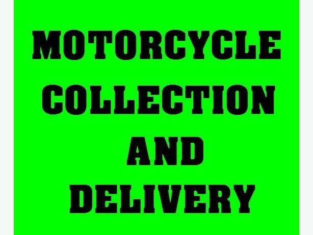 Motorbike Delivery/Collection Motorcycle Transporter Courier Honda   Kawasaki