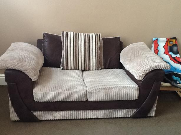 Two 2 seater settee