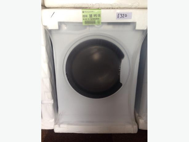 BRAND NEW HOTPOINT WASHING MACHINE