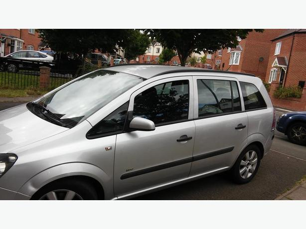 Vauxhall zafira 1.9 tdi start and drive 2007 reg