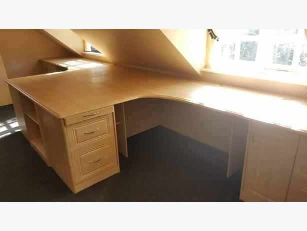 fitted office desk suit mint condition