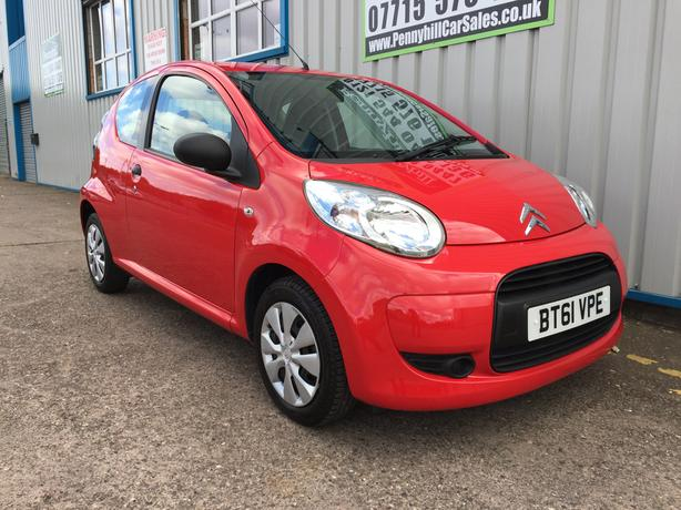 2012 Citroen C1 1.0 VTR *LOW MILEAGE* *FINANCE AVAILABLE*