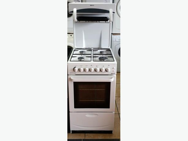 BEKO 50CM EYE LEVEL GAS COOKER + WARRANTY