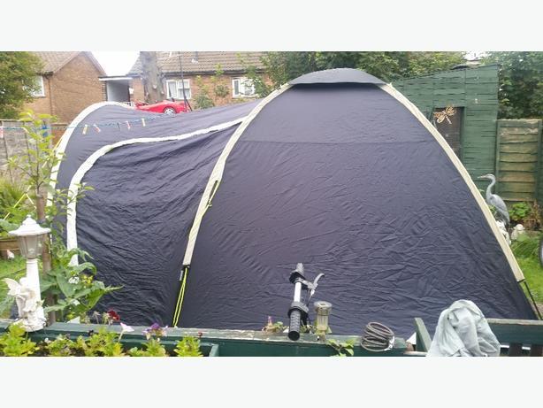 sunncamp nirvana 500 tent
