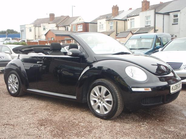 Volkswagen Beetle 2.0 2dr Cabriolet