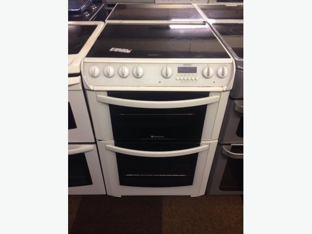 HOTPOINT DOUBLE OVEN FAN ASSISTED