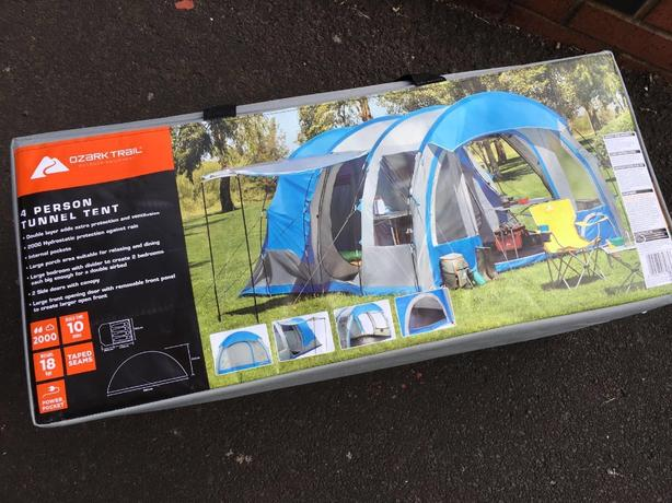4 man tunnel tent brand new