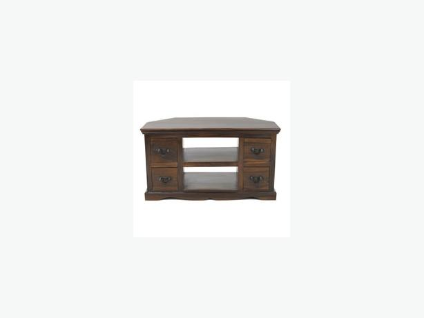 solid wood 4 draw tvstand
