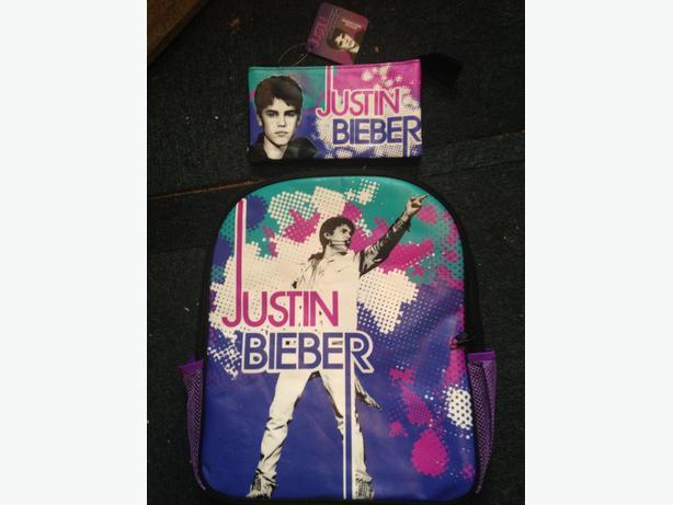 School bag/justin beiber back bag