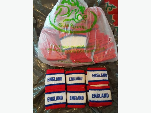 47 sets England sweat bands