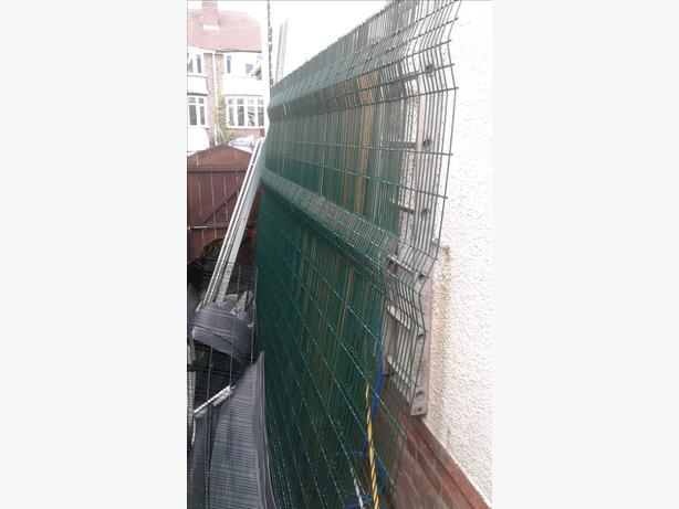 FOR SALE ANTI CLIMB METAL FENCE