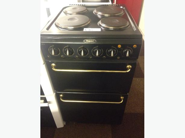 HOTPOINT 50CM PLATED ELECTRIC COOKER