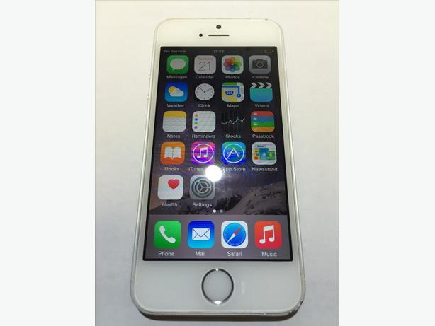 iPhone 5s 32GB Unlocked Grade A Silver