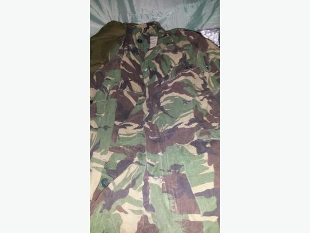 Old skool DPM WOODLAND ARMY COMBAT JACKET