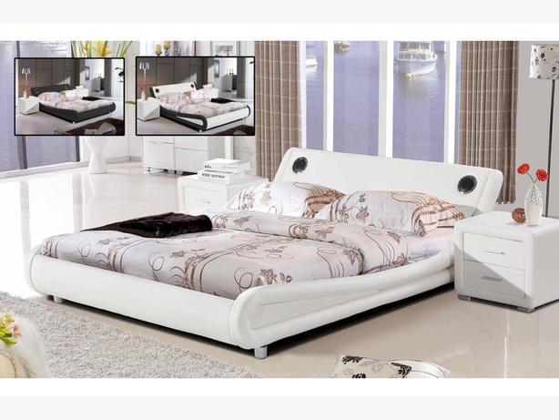 Madrid Designer Bed with Bluetooth Speakers
