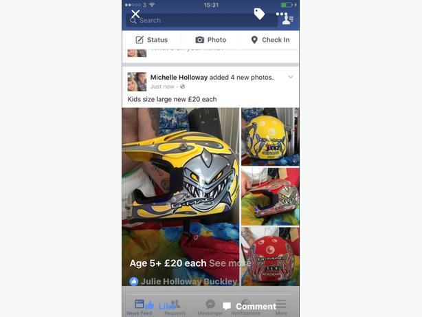 crash helmet as new large child 5 plus