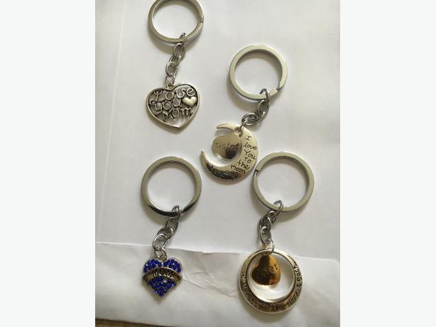 £4 each keyrings