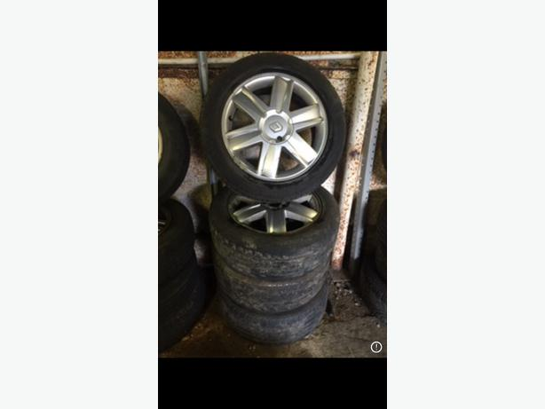 "RENAULT ALLOYS X4 + LEGAL TYRES 16"" 205/55/R16 PCD 4X100 BORE 60.1 4 STUD"