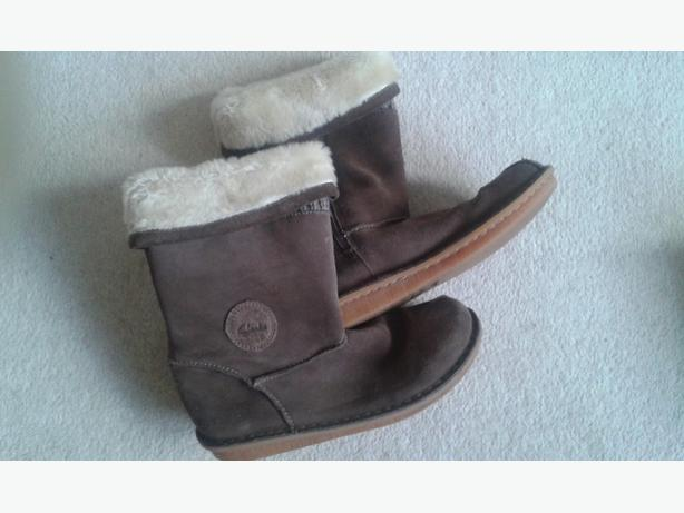 Girls clarks boots