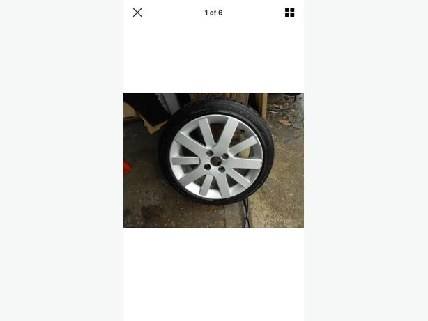 peugeot 207 cabriolet alloy