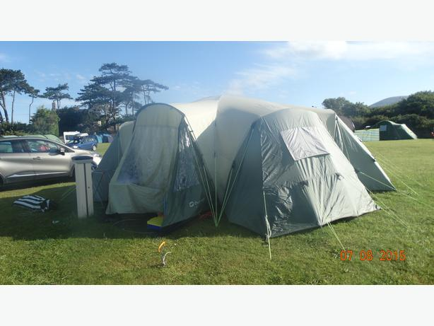 12 man tent  with every think u need