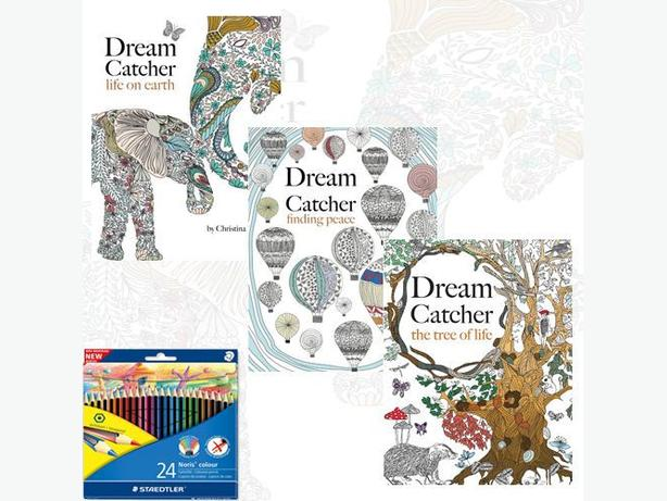Dream Catcher 3 Books Collection Set By Christina Rose