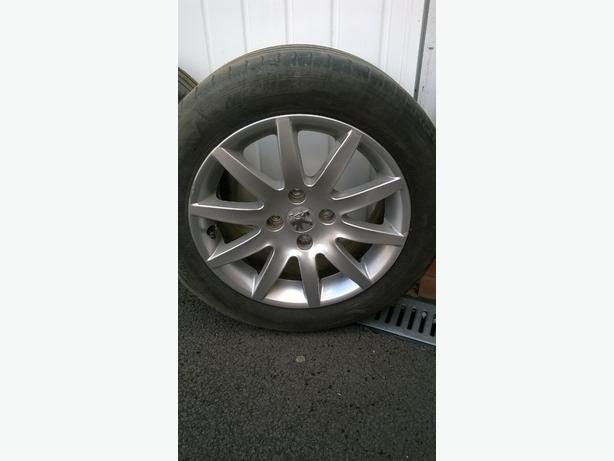 Peugeot 308 alloy wheels