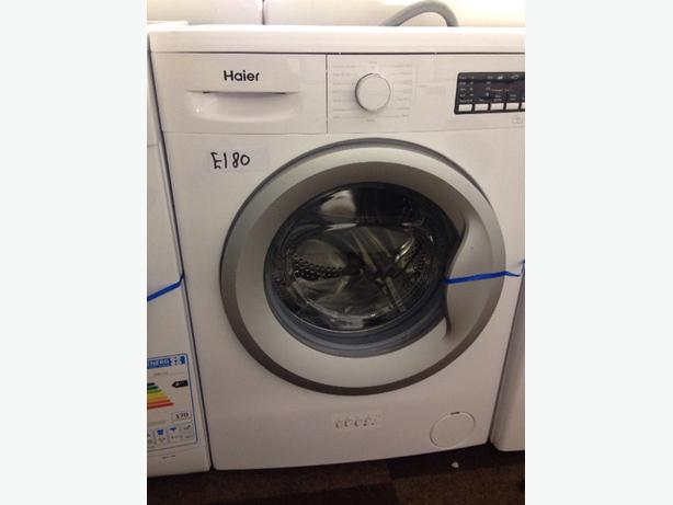 HAIER WHITE WASHING MACHINE 6KG 1200 SPIN