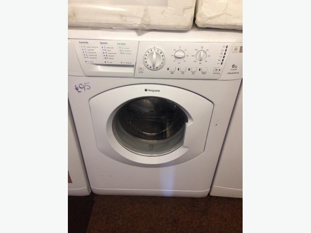 HOTPOINT 6KG WHITE WASHING MACHINE