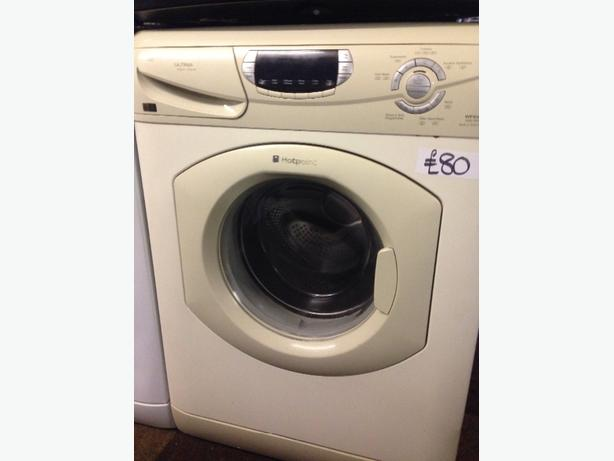 HOTPOINT CREAM 6KG SUPER SILENT WASHING MACHINE