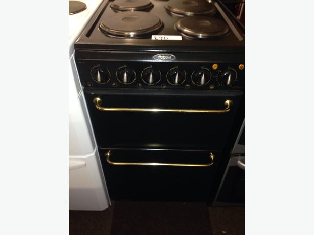 BLACK HOTPOINT 50CM ELECTRIC COOKER3