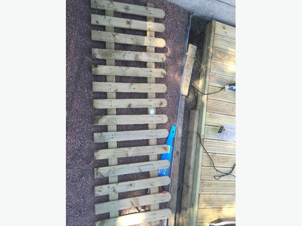 picket fence 6ft long 2ft high