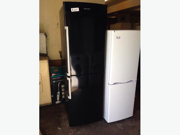 BLACK RUSSELL HOBBS FRIDGE / FREEZER