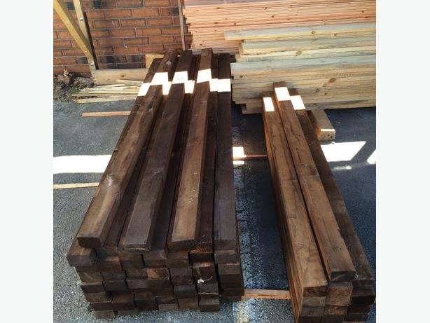 3x2(47mmx75mm) treated timber 1.8m(6ft) and 1.5m(5ft) Price in description.