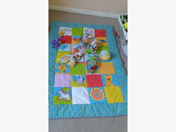 Baby play mat - large
