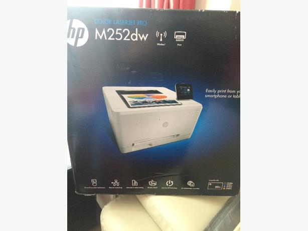hp colour laser jet pro printer