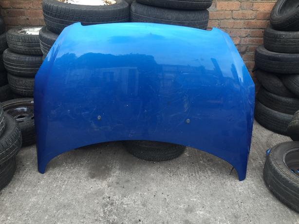 peugeot 307 bonnet paint code blue kmf 2001-2006